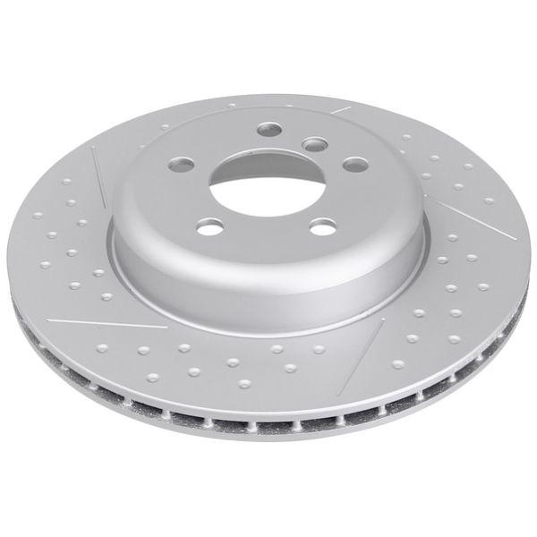 Geperforeerde remschijven achterzijde Sport kwaliteit BMW 4 Coupé (F32, F82) 418 d