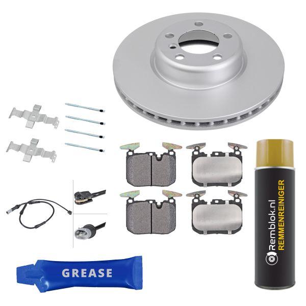 Voordeelpakket remschijven & remblokken voorzijde BMW 4 Coupé (F32, F82) 418 d
