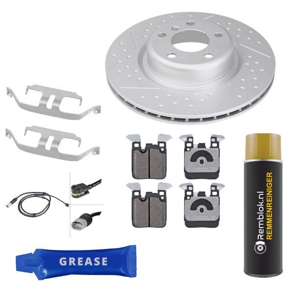 Voordeelpakket remschijven & remblokken achterzijde BMW 4 Coupé (F32, F82) 418 d